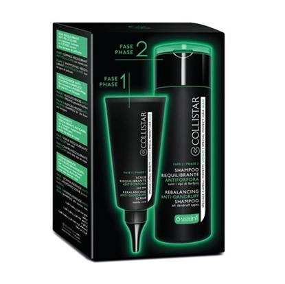 Immagine di COLLISTAR | Trattamento Riequilibrante Antiforfora 2 Fasi Scrub 50 ml + Shampoo 200 ml