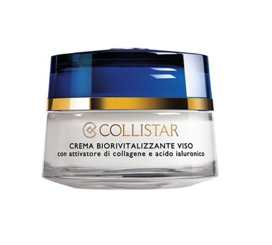 Immagine di COLLISTAR | Crema Biorivitalizzante Viso con Attivatore di Collagene e Acido Ialuronico per Tutti i Tipi Di Pelle + in Regalo Massaggiatore Viso
