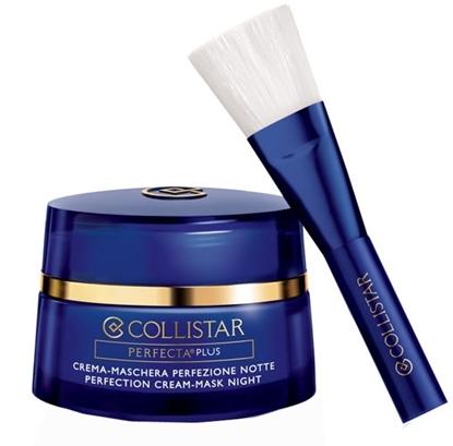 Immagine di COLLISTAR | Crema Maschera Perfezione Notte Viso e Collo + Pennello