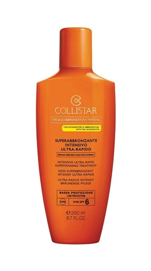 "Immagine di COLLISTAR | Super Abbronzante Intensivo Ultra Rapido ""Speciale Week-End"" Bassa SPF 6"