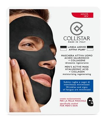 Immagine di COLLISTAR   Maschera Attiva Uomo Acido Ialuronico + Collagene Idratante rigenerante