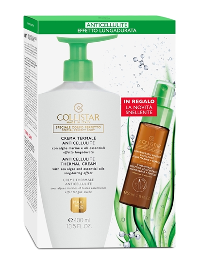 Immagine di COLLISTAR   Kit Crema Termale Anticellulite + Concentrato Bifasico Snellente