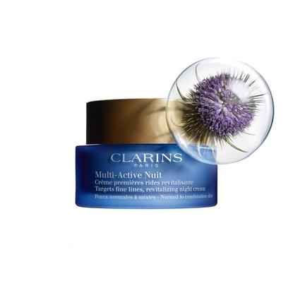 Immagine di CLARINS | Multi Active Nuit Légèra Crema Notte Prime Rughe per tutti tipi di pelle