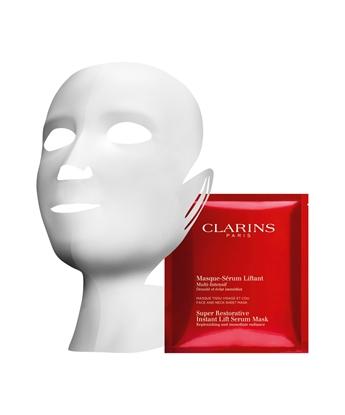 Immagine di CLARINS | Multi Intensive Masque Sérum Liftant Maschera Siero Lifting in Tessuto