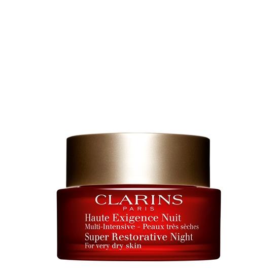Immagine di CLARINS | Multi Intensive Créme Haute Exigence Nuit Crema Notte Anti Età Globale pelle secca