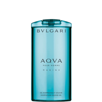 Immagine di BVLGARI | Bulgari Aqva Pour Homme Marine Shampoo & Gel Doccia