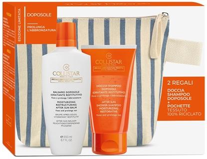 Immagine di COLLISTAR | Kit Balsamo Doposole Idratante Restitutivo + Doccia Shampoo Doposole Idratante e Restitutivo