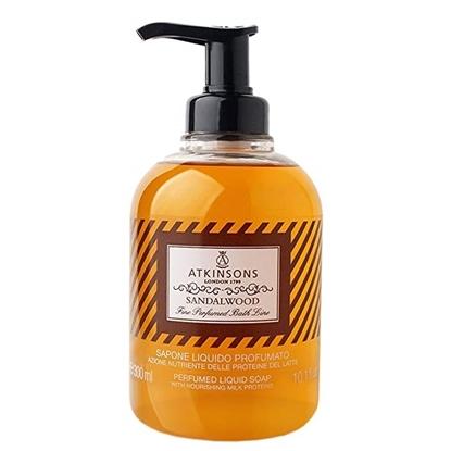 Immagine di ATKINSONS | Fine Perfumed Bath Line Sapone Liquido Profumato Sandalwood