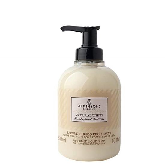 Immagine di ATKINSONS | Fine Perfumed Bath Line Sapone Liquido Profumato Natural White