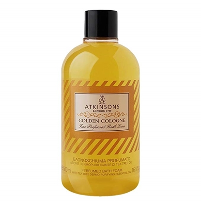 Immagine di ATKINSONS | Fine Perfumed Bath Line Bagnoschiuma Profumato Golden Cologne