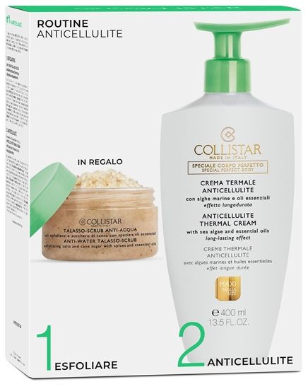 Immagine di COLLISTAR | Cofanetto Crema Termale Anti Cellulite