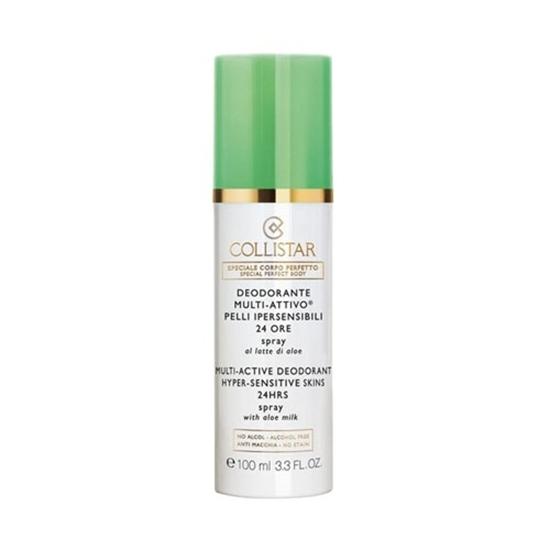 Immagine di COLLISTAR | Deodorante Multi Attivo Pelli Ipersensibili 24 Ore Spray al Latte di Aloe